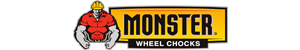 monster wheel chocks brand logo