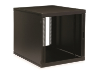12U compact SOHO server cabinet with no doors