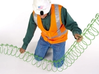 454 series Cable tray snake tray in use