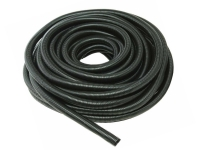 Roll of black wire loom tubing
