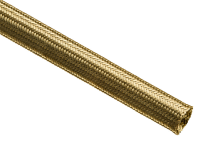 Expandable anti-microbial & germicidal brass braided sleeving