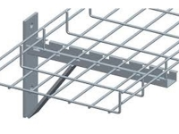 Cable tray cantilever wall mount bracket