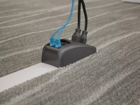 Picture of Connectrac in carpet application.