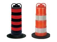 Multiple cortina trail guide traffic channelizer barrel slim