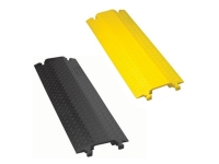 2 Do-lite drop over cord covers, one black and one yellow