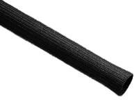 Black Dura-braid sleeving