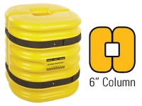 Eagle 1724-6 Yellow Mini Column Protector
