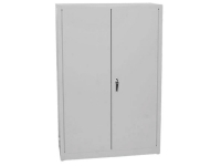 Eagle 45 gallon office supply storage cabinet gray