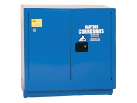 Eagle 22 gallon blue safety cabinet for corrosive acids