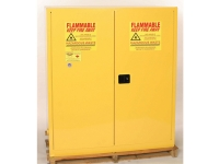 eagle brand haz mat safety storage cabinet yellow