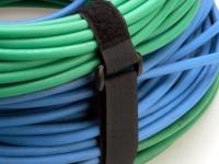 Black econo-cinch strap in use