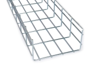 electro zinc coated basket cable tray