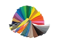 PET expandable braided sleeving,color wheel