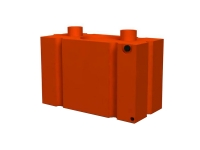 #2304-55 Modular security block barricade, Orange