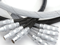 Halar braided sleeving covering wires