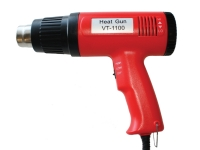 Variable control red heat gun