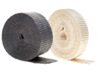 Insultherm header wrap, natural and black
