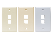 Keystone 2 port wall plates all colors
