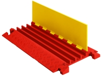 Linebacker  CP4X125 4-channel polyurethane heavy duty cable protector