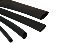 Black neoprene heat shrink tubing