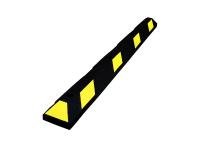 Park It rubber parking stops, 6' Long,Yellow/Black