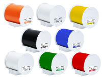 Pearlabel 400ixl label printer 4 inch diameter polyethylene olefin adhesive tape in all colors