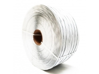 plas ties 419 plastic twist tie material spool in white