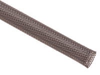 Brown high abrasion, uv, & rodent resistant heavy duty braided sleeving