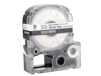 White shrink tube cartridge tape