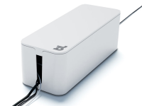 Cable box mini, white with cable