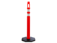 Diamond top Traffic Post Delineator, Orange, 42