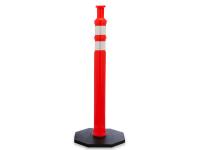 JBC Knob top Traffic Post Delineator, Orange, 42