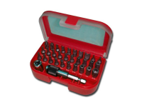 Triplett industrial grade bits kit, red case