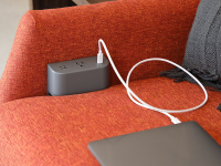 Tully in furniture charging hub tail example usage sofa