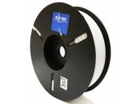wireless plastic twist tie spool material in white