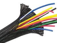kable kontrol wrap around braided sleeving per foot