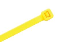 yellow 4 inch zip ties 100 pack